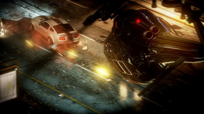 Rennspiel Need for Speed – The Run: Helikopter © Electronic Arts