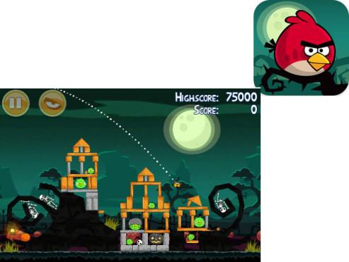 Angry Birds Seasons ©Rovio Mobile Ltd.