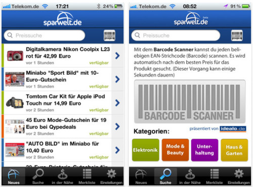 Sparwelt.de ©ECONA Shopping GmbH