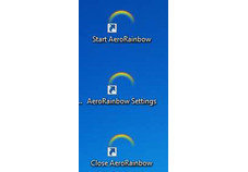 Screenshot 1 - AeroRainbow