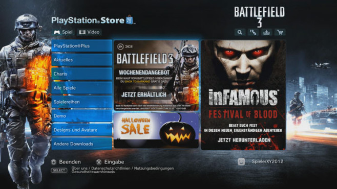 Playstation Store ©Sony