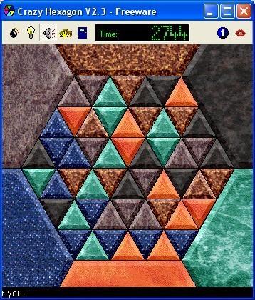 Screenshot 1 - Crazy Hexagon