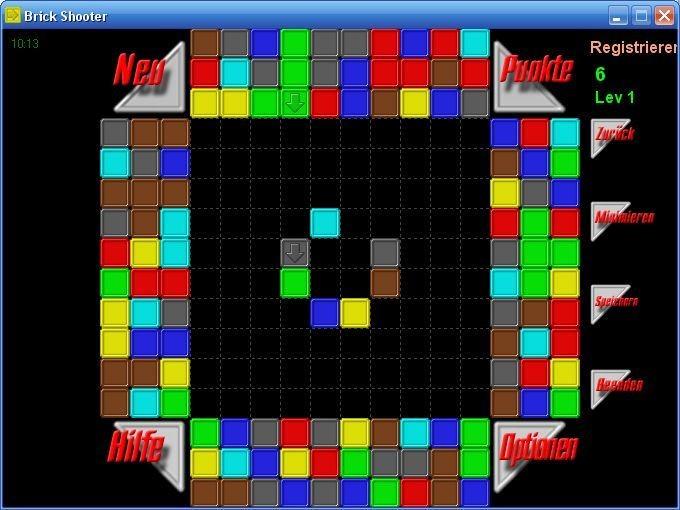 Screenshot 1 - BrickShooter