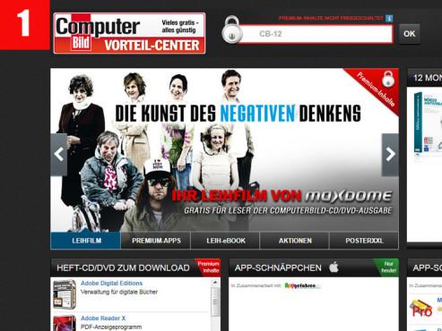 COMPUTER BILD-Vorteil-Center ©COMPUTER BILD