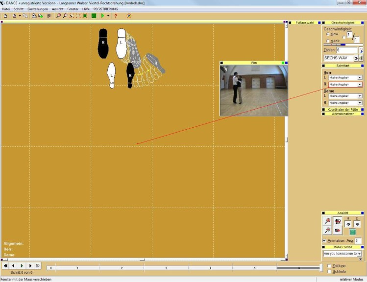 Screenshot 1 - Dance