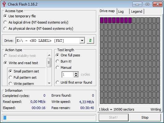 Screenshot 1 - Check Flash