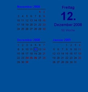 Wallpaper-Kalender