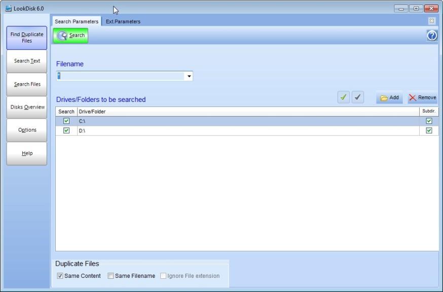 Screenshot 1 - LookDisk