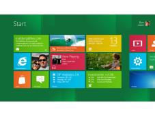 Startbildschirm von Windows 8©Microsoft