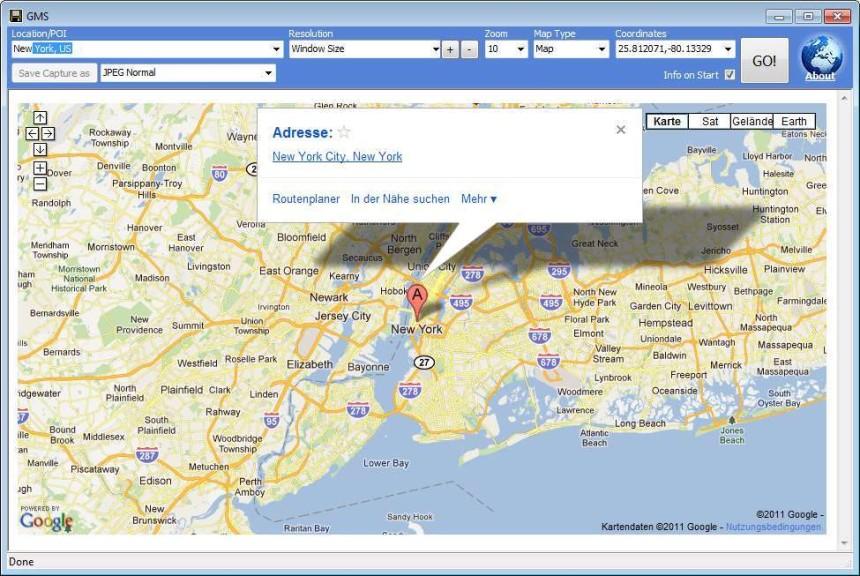 Google map saver 103 beta download computer bild screenshot 2 google map saver gumiabroncs Image collections