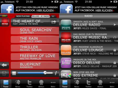 Screenshot Deluxe Music Tuner © COMPUTER BILD