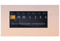 Windows Live Calendar Gadget