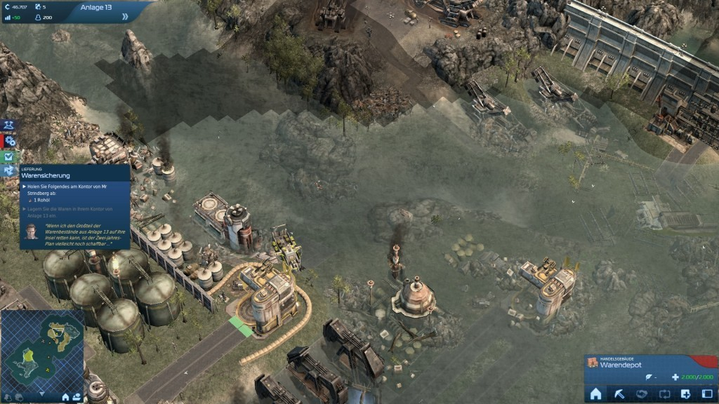 Screenshot 1 - Anno 2070