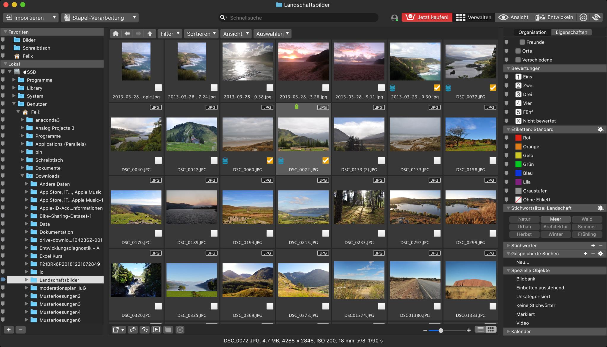Screenshot 1 - ACDSee Photo Studio (Mac)