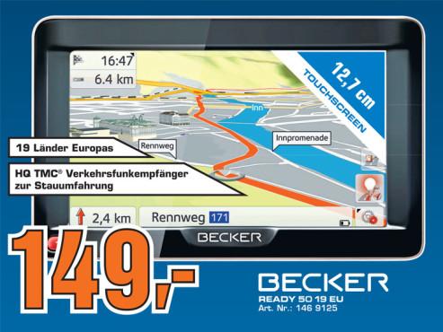 Becker Ready 50 19 EU ©Saturn