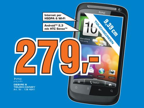 HTC Desire S ©Saturn