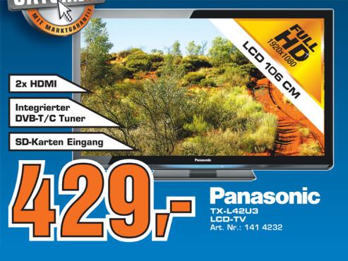 Panasonic TX-L42U3 ©Saturn