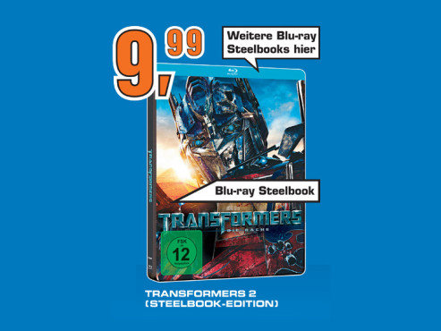 Transformers 2 (Steelbook-Edition) ©Saturn