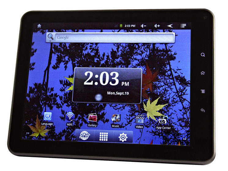 Intenso Intab: Android Tablet mit acht Zoll im Praxis Test