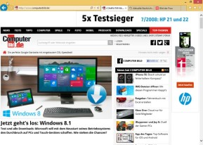Internet Explorer 11 (Windows 8.1, 64 Bit)