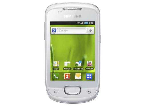 Februar 2011: Galaxy mini (S5570) ©Samsung