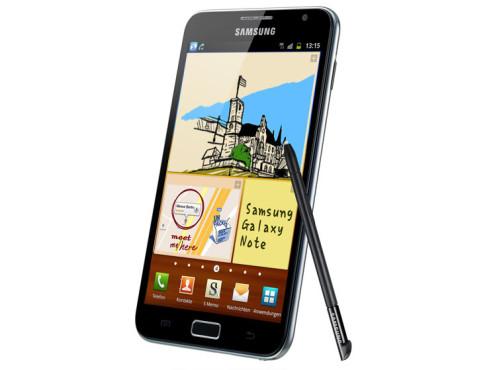 November 2011: Galaxy Note (N7000) ©Samsung