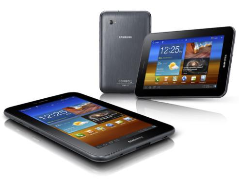 Oktober 2011: Galaxy Tab 7.0 Plus ©Samsung