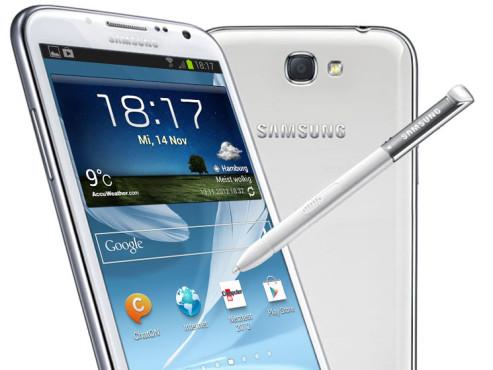 Samsung Galaxy Note 2 LTE ©Samsung