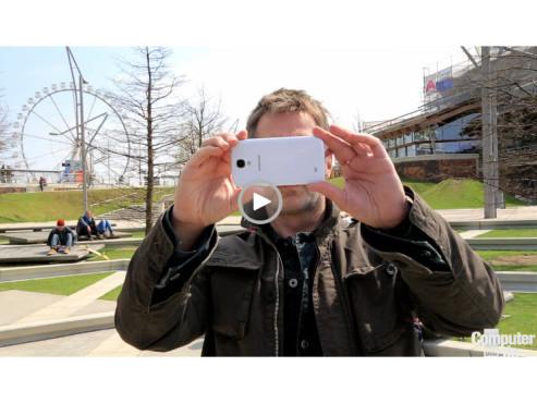 Samsung Galaxy S4 im Test ©COMPUTER BILD
