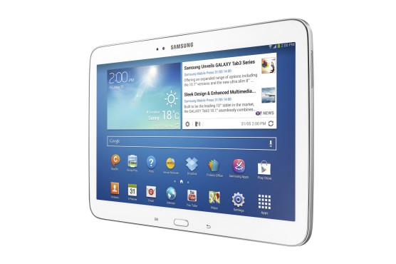 Samsung Galaxy Tab 3 10.1 ©Samsung