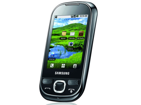 September 2010: Galaxy 550 ©Samsung