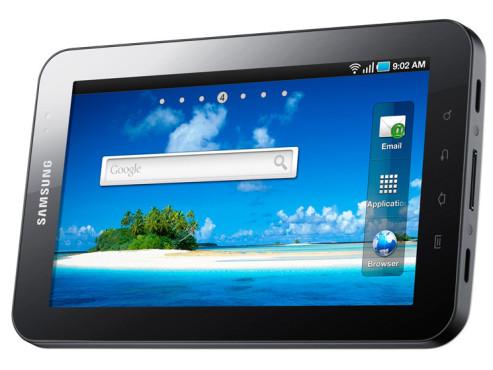 September 2010: Galaxy Tab Wifi ©Samsung