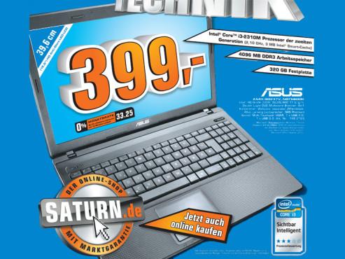 Asus A54H-SO237V ©Saturn