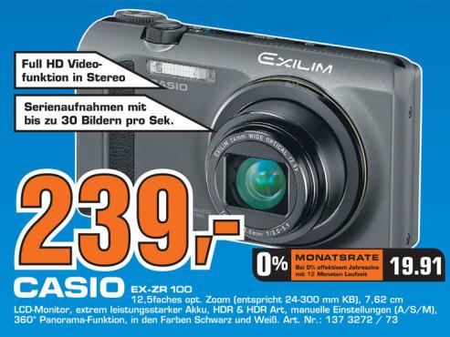 Casio EX-ZR100 ©Saturn