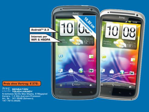 HTC Sensation ©Saturn