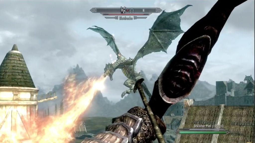 Rollenspiel The Elder Scrolls 5 – Skyrim: Drachenkampf
