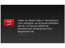 Blockierte YouTube-Seite©YouTube