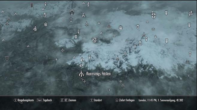 Komplettlösung The Elder Scrolls 5 – Skyrim: Schreie und Wörter der Macht ©Bethesda Softworks