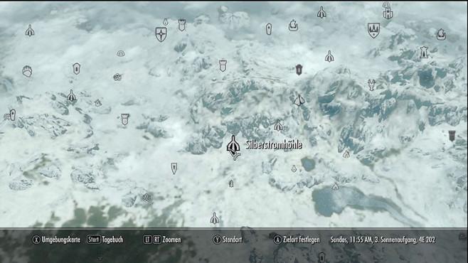 The Elder Scrolls 5 – Skyrim: Standorte aller Drachenschreie