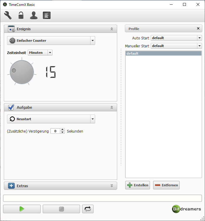 Screenshot 1 - TimeComX Basic