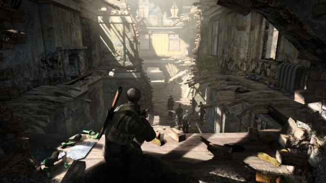 Actionspiel Sniper Elite V2: Schatten © Rebellion
