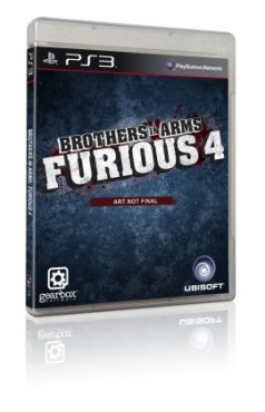 Actionspiel Brothers in Arms – Furious 4: PS3-Packshot ©Ubisoft