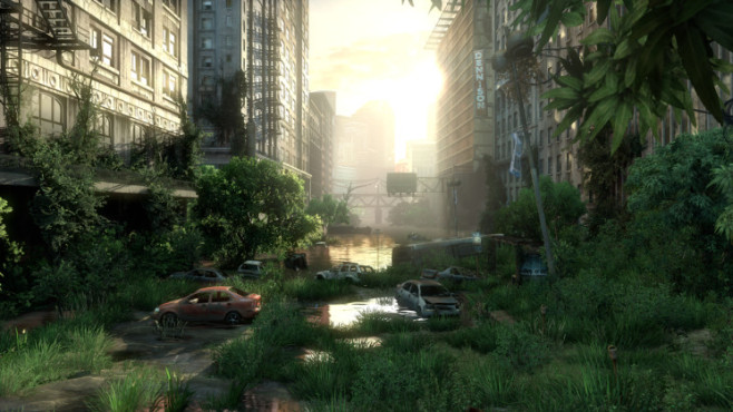 Actionspiel The Last of Us: Straße ©Sony