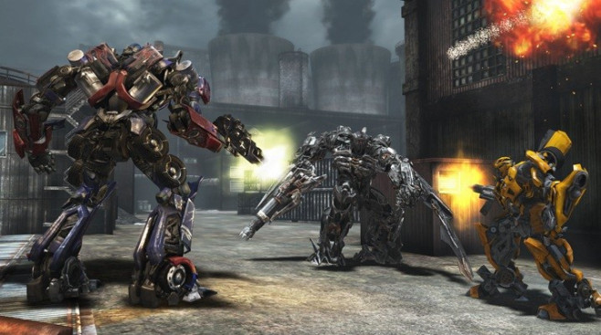 Actionspiel Transformers – Dark of the Moon: Roboter ©Activision