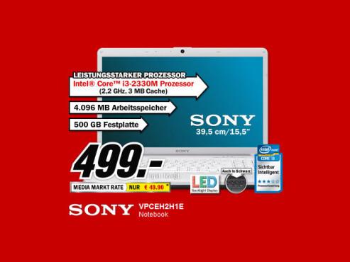 Sony VPCEH2H1E ©Media Markt
