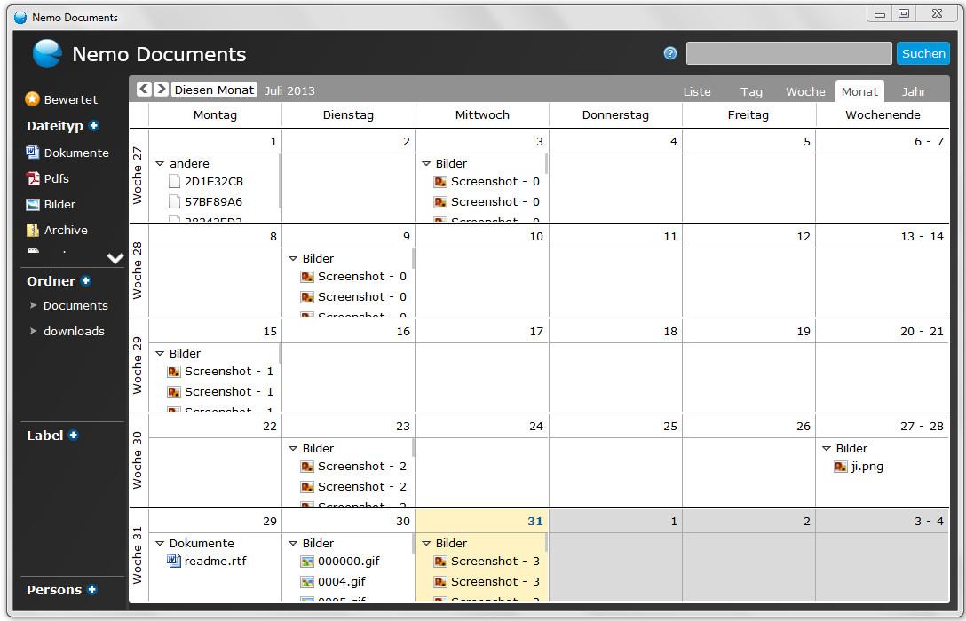 Screenshot 1 - Nemo Documents