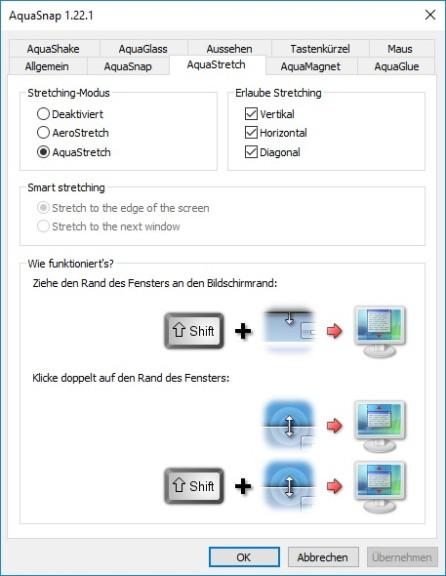 Screenshot 1 - AquaSnap Portable