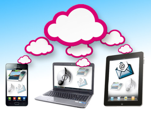 Telekom Cloud Mediencenter Daten hochladen ©COMPUTER BILD