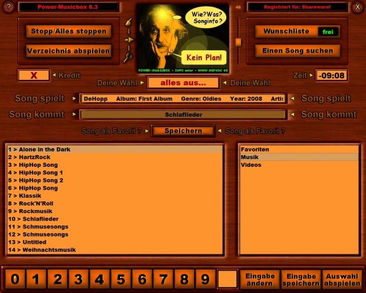 Screenshot 1 - Power-Musicbox