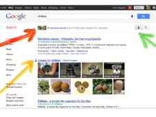 Google Search Plus Your World Funktionen©Google